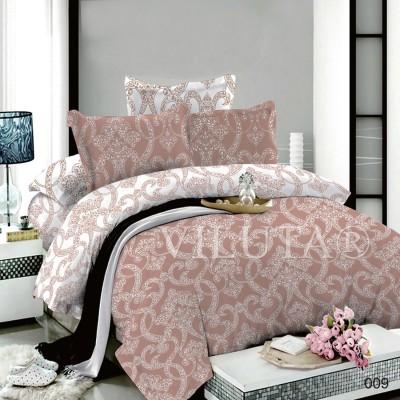 Комплект постельного белья «Poplin Damask-009» Viluta