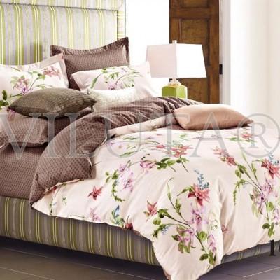 Комплект постельного белья «Satin Tvil-102» Viluta