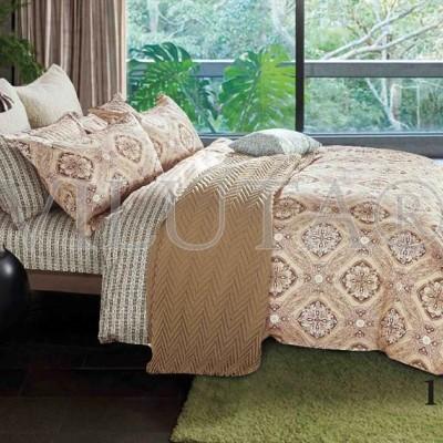 Комплект постельного белья «Satin Tvil-113» Viluta
