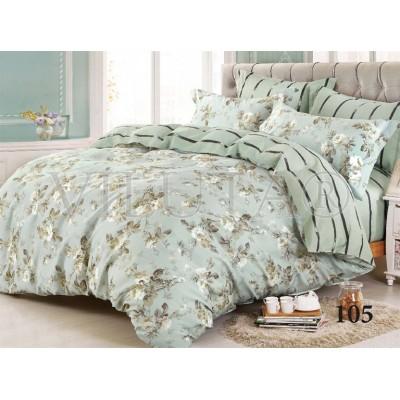 Комплект постельного белья «Satin Tvil-105» Viluta