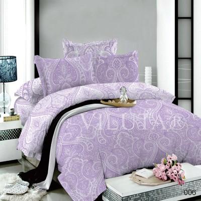 Комплект постельного белья «Poplin Damask-006» Viluta