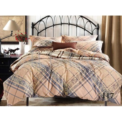 Комплект постельного белья «Satin Tvil-117» Viluta