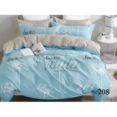 Комплект постельного белья «Satin Tvil-208» Viluta