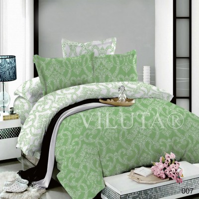 Комплект постельного белья «Poplin Damask-007» Viluta
