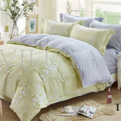 Комплект постельного белья «Satin Tvil-118» Viluta