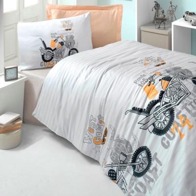 Комплект постельного белья ранфорс «Style» полуторный Light House
