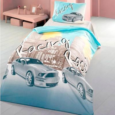 Комплект постельного белья ранфорс «Racing» Light House