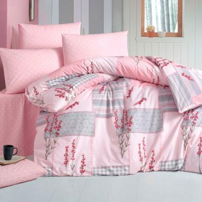 Комплект постельного белья ранфорс «Burcak» Light House