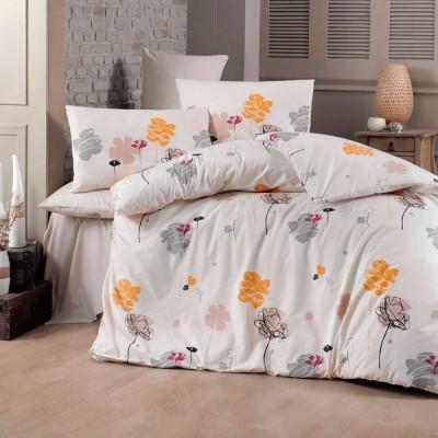 Комплект постельного белья ранфорс «Flowers» Light House