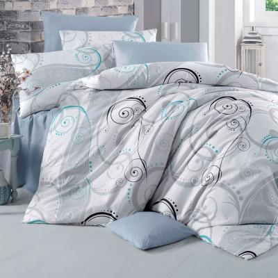 Комплект постельного белья ранфорс «Guliz» Light House