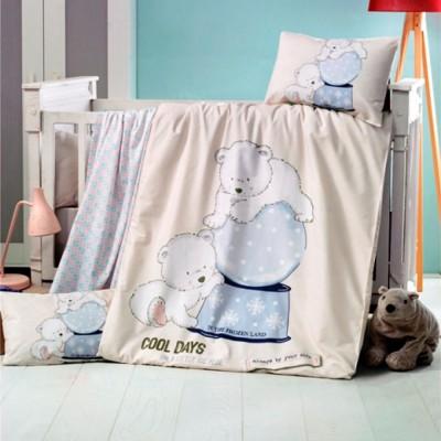 Детский комплект постельного белья ранфорс «Frozen» Light House