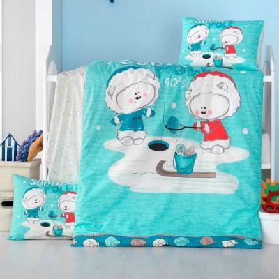 Детский комплект постельного белья ранфорс «South Pole» Light House
