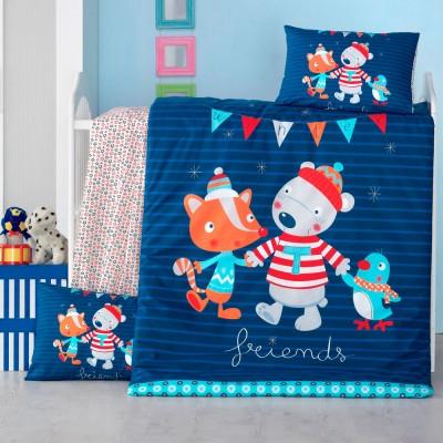Детский комплект постельного белья ранфорс «Winter» Light House