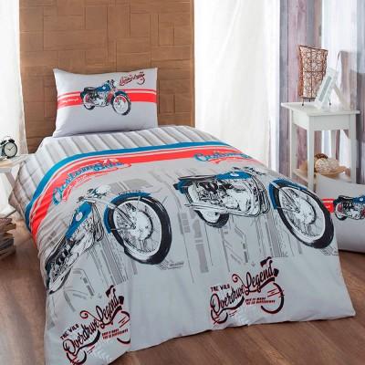 Комплект постельного белья ранфорс «Drive» Light House
