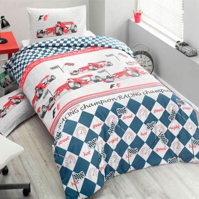 Комплект постельного белья ранфорс «Forsage» Light House