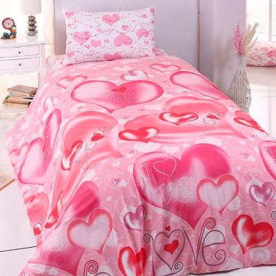 Комплект постельного белья ранфорс «Sweet Heart» Light House
