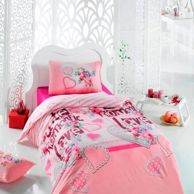 Комплект постельного белья ранфорс «Cute» Light House