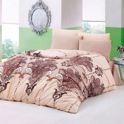 Комплект постельного белья ранфорс «Velour» Light House