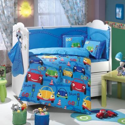 Детский комплект постельного белья поплин «Cars» Hobby
