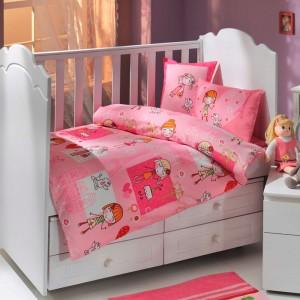 Детский комплект постельного белья поплин «City Girl» Hobby