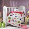 Детский комплект постельного белья поплин «Crazy Birds» Hobby