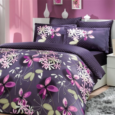 Комплект постельного белья сатин «Chichek» Hobby
