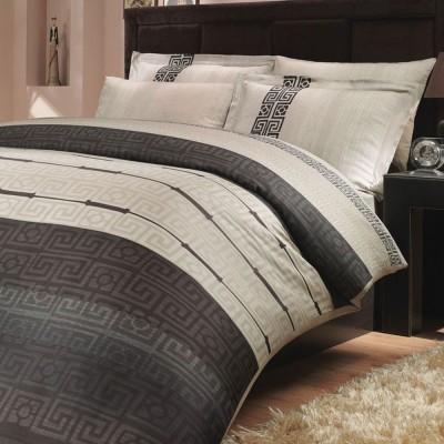 Комплект постельного белья сатин «Denim» серый Hobby