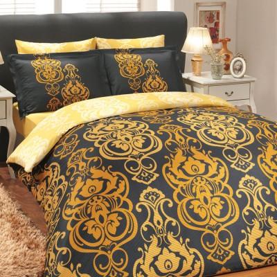 Комплект постельного белья сатин «Monart» золото Hobby