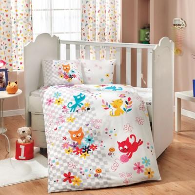 Детский комплект постельного белья поплин «Mirmir» Hobby