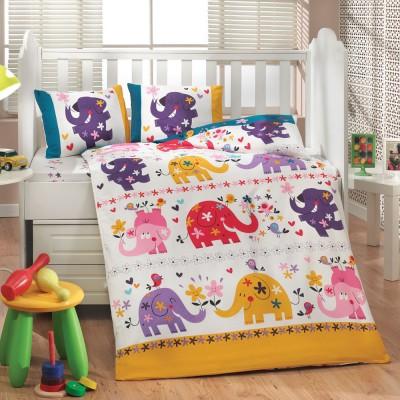 Детский комплект постельного белья поплин «Oscar» Hobby