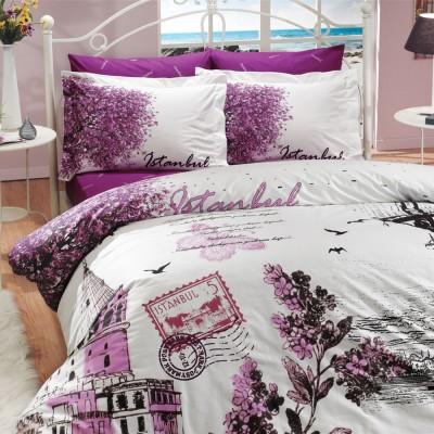 Комплект постельного белья поплин «Panorama» Hobby