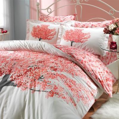 Комплект постельного белья поплин «Florentina» персик Hobby