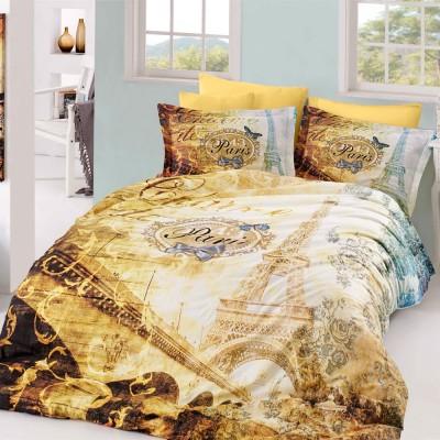 Комплект постельного белья поплин «Vivaldi Gold» Hobby