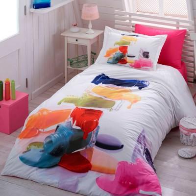 Комплект постельного белья поплин «Rainbow» поплин Hobby