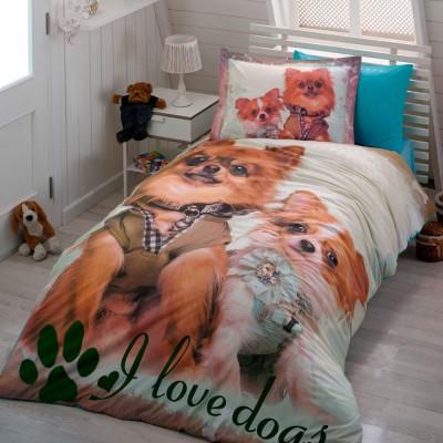 Комплект постельного белья поплин «Buddy» Hobby