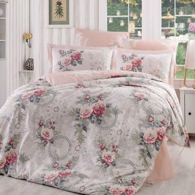 Комплект постельного белья поплин «Clementina» евростандарт | Hobby