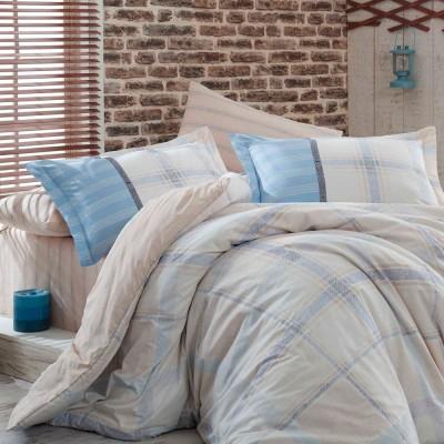 Комплект постельного белья поплин «Carmela» евростандарт | беж | Hobby