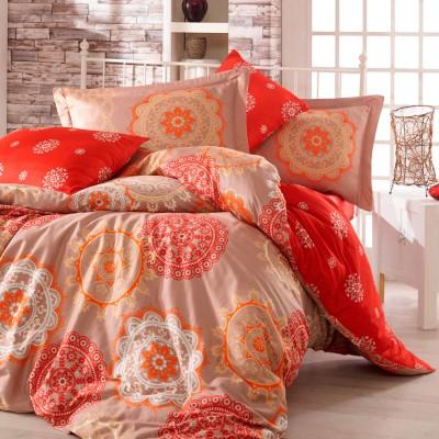 Комплект постельного белья сатин «Ottoman» золото Hobby