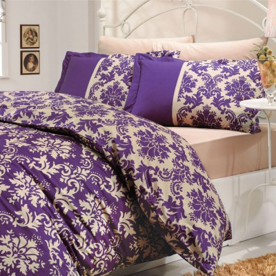 Комплект постельного белья поплин «Avangarde» фиолет Hobby
