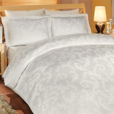Комплект постельного белья bamboo сатин «Diamond Flower» крем Hobby