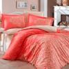 Комплект постельного белья поплин «Serenity» красный Hobby