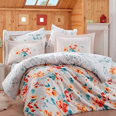 Комплект постельного белья сатин «Lavida» красный Hobby