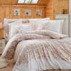 Комплект постельного белья сатин «Serena» беж Hobby