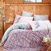 Комплект постельного белья поплин «Giulia» евростандарт | сирень | Hobby