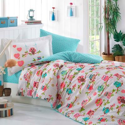 Комплект постельного белья поплин «Candy» розовый Hobby