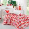 Комплект постельного белья поплин «Vera» красный Hobby