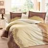 Комплект постельного белья сатин «Filomena» корич Hobby
