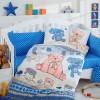 Детский комплект постельного белья поплин «Tombik» голуб Hobby