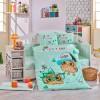 Детский комплект постельного белья поплин «Cool Baby» мятный Hobby