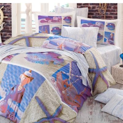 Комплект постельного белья поплин «Ocean» Hobby